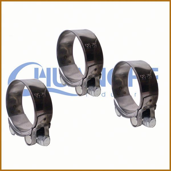 made in china no rubber or pvc lined p shape tube clip