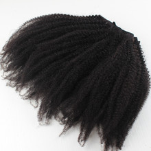 Fast shipping large stock clip in hair extensions for black women in stock