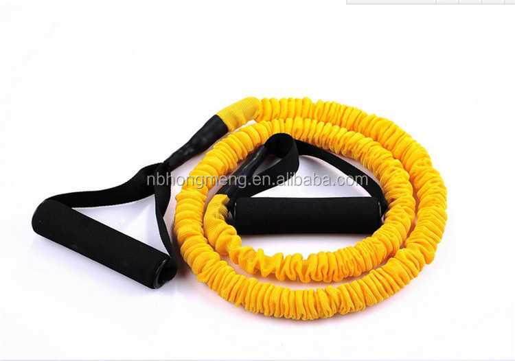 5 pieces Latex heat rubber resistance bands fitness