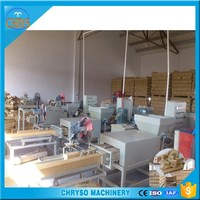 CE ISO qualified wood chips /shavings /sawdust block making equipment