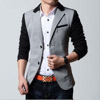 D92748T 2014 UK new style men's suit of slim ,casual men jacket