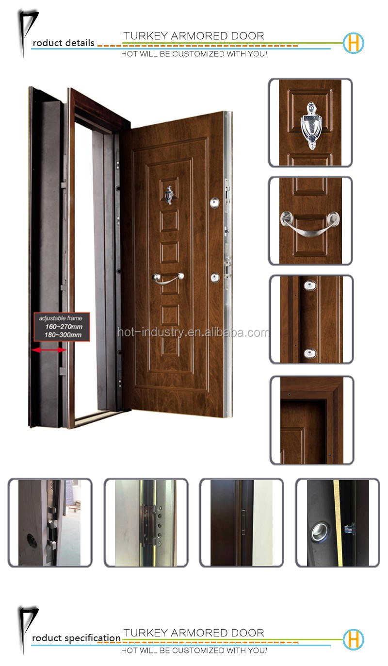 Oem Available Interior Security Door Steel Door China Cheap Price Steel Metal Iron Door Buy