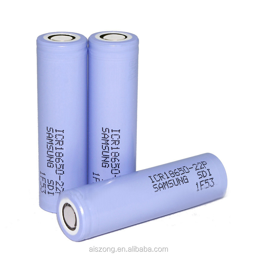 Samsung 3.7V ICR 18650 22P li ion battery Samsung 2200mah 10ah 22p rechargeable battery for power tools ,e-cig mod