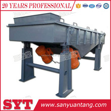 Double horizontal motor linear vibrating screen/sand vibrating sieve