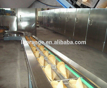Full Automatic Rolled Sugar Cone Baking Machine and Making Machine