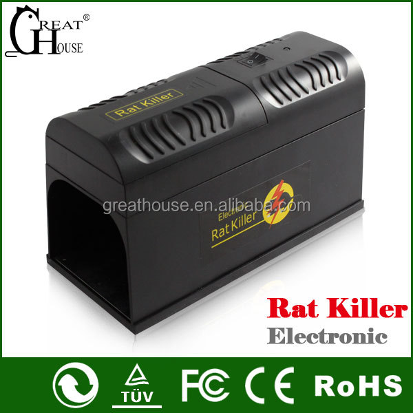 GH-190 plastic high voltage Electronic rat killer
