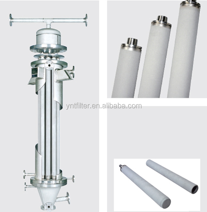 Stainless steel multi-cartridge filter housing for water or oil purification