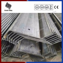 Z profile shape cold rolled sheet pile