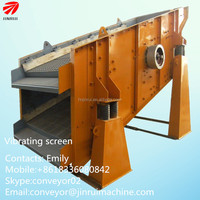 mining coal power use wet & dry vibrate screen sieve circular vibro screens