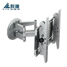 China supplier steel LED LCD Plasma swivel flat panel 180 degrees swivel universal tv wall mount installation