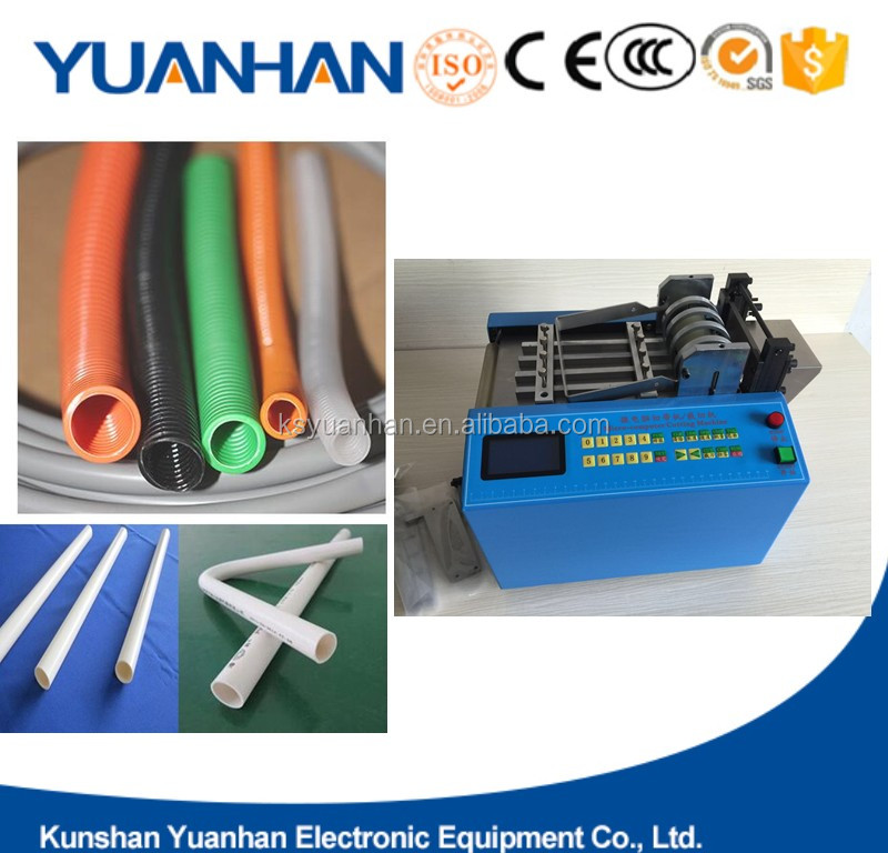 Electric heat shrink tube cutting machine/PVC shrink sleeve cutter