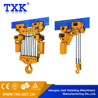 5 ton Motor Trolley Type Electric Chain Hoist with Hook block