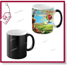 low price color changing sublimation mugs 11oz ceramic for photo printing