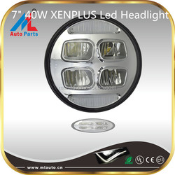 2015 new style 7inch 40W led headlight for jeep with 3200 high beam for sale