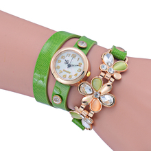 Elegant Ladies Chains Alloy Wristband Fashion Bracelet Watch