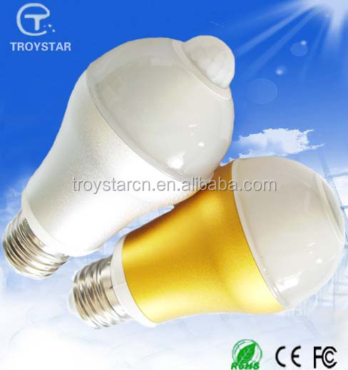 high quality pir led bulb light detector