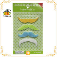 Colorful wholesale promotive gift item easter mustache