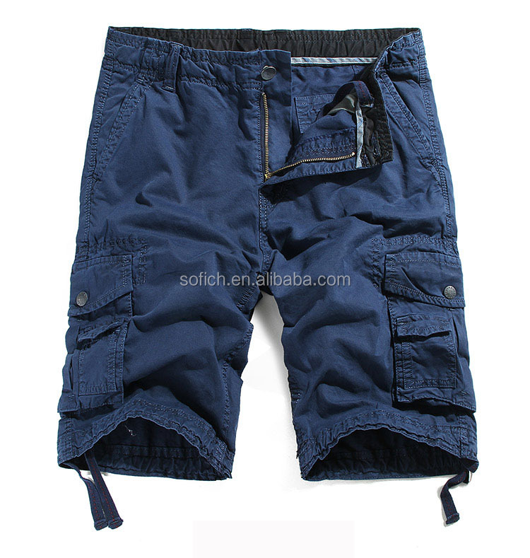 Wholesale new stock mens 6 pocket cargo shorts