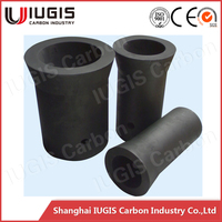 high purity melting silver crucible graphite