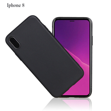 Latest hot selling Soft and durable environmental Silicone and TPU ultra thin 0.8mm colorfast cell phone case for iphone X