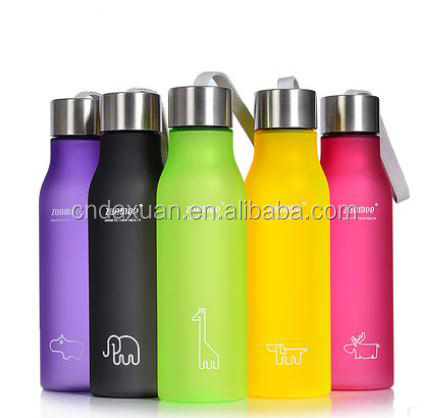600ml FDA Plastic Sport Bottle Easy