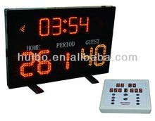 Alibaba wholesale electronic led portable basketball scoreboard