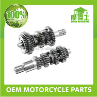 OEM motorcycle parts online mainshaft and countershaft for CG125 motorcycle parts