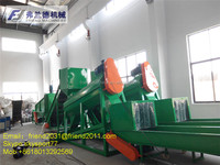 Waste PET plastic bottle/flakes washing/recycling line