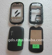 Celluar Phone Full Housing Cover Skin Cover For OT708 Full Housing Back Housing+Screen Len