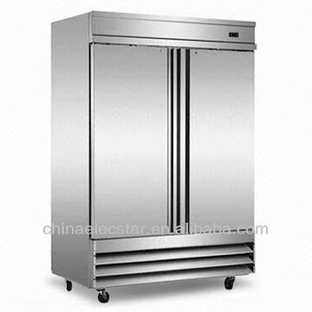 double door Reach-in kitchen Refrigerator, Conforms to UL/NSF and Energy Star .Made of Stainless Steel,American style