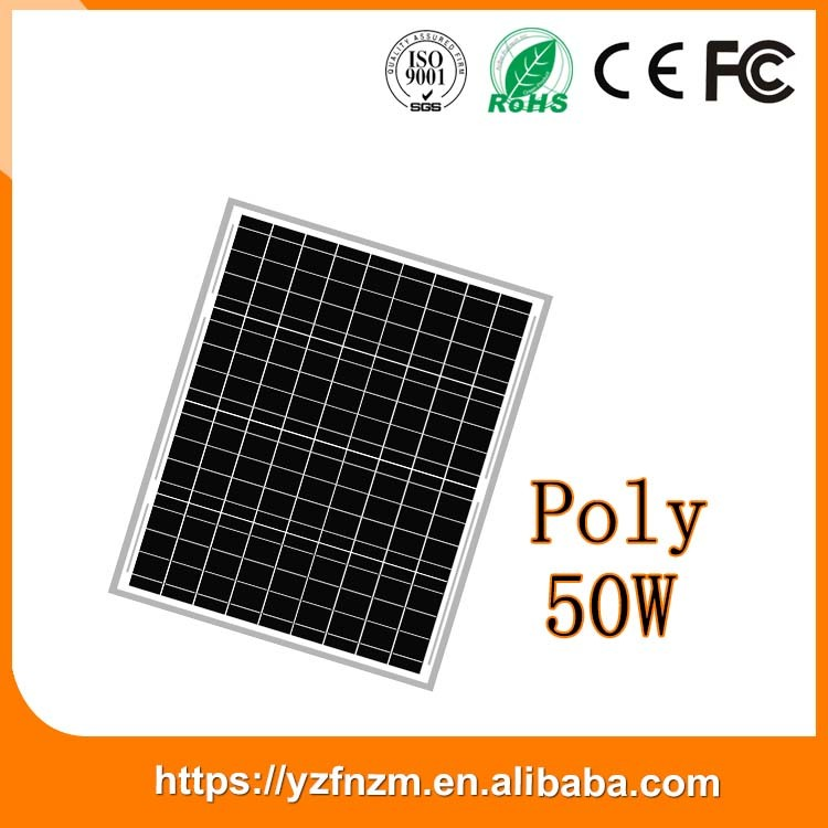 customized 50w solar panel reliable quality from China