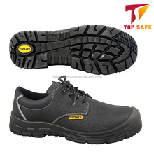 High Ankle Safety Shoes Yellow Swede Leather Safety Footwear