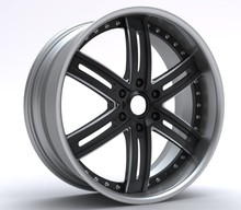 forged alloy wheels for car, 3 pieces forged alloy wheel