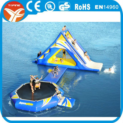 New inflatable floating water park,giant inflatable water park
