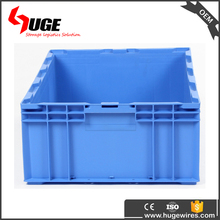 industrial multifunctional plastic stackable storage bin for warehouse