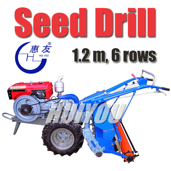 Rice Seed Drill, Rotary Driven, Tractor Seeder (2BG-5A/2BG-6A)