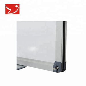 Tempered glass soft magnetic interactive whiteboard