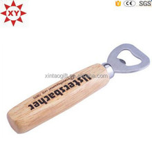 Eco-friendly best sell wooden handle bottle opener