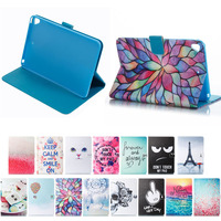 Factory Price for iPad Mini 5 Colorful Paint Leather Protective Case, Many Patterns Available