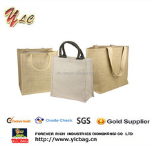 Wholesale recycled jute bag, jute shopping bag,jute tote bag