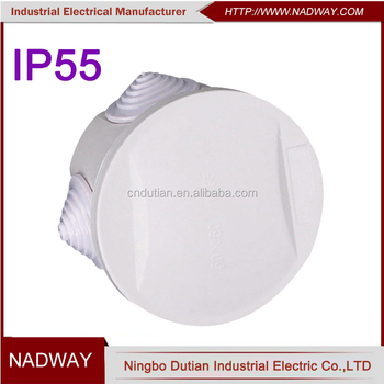 50*50mm IP55 round electrical junction box price in philippines
