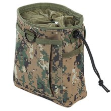 Camouflage Utility Pouch Bag Drop Tactical Waterproof Storage Bag