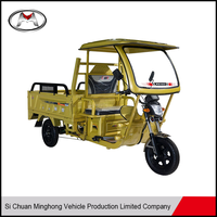China Elegant shape cargo used 3 wheel flatbed tricycle