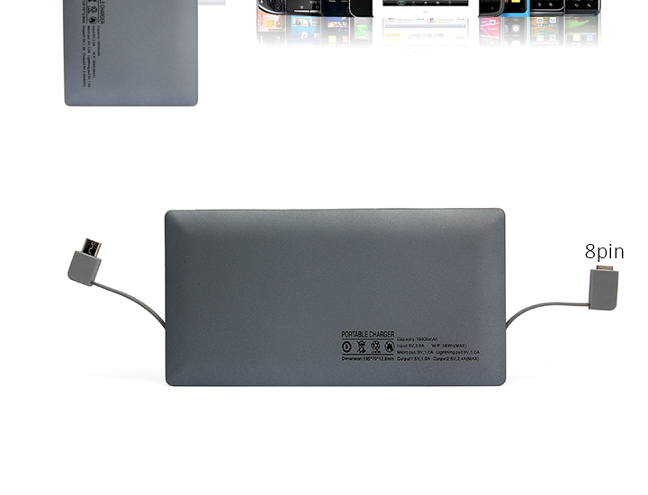 Universal Smart portable charger power bank 10000mah powerbank