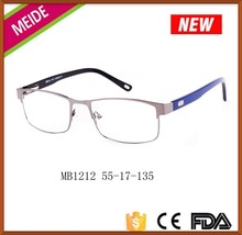 Diamond custom made european style eyeglass frames glasses for men