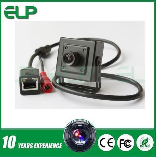 Onvif 720p mini box intelligent cctv ip network camera face recognition