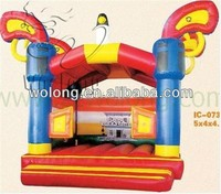 popular jumping castle blower, inflatable fun castle