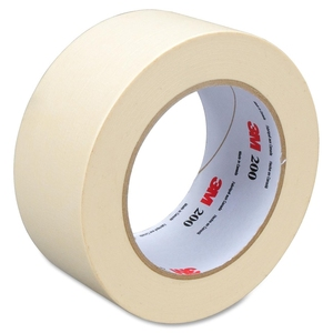 White craft paper masking tape for lint roller