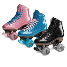 Customize OEM Stardust Glitter Roller Skate High Quality 4 WheelProfeesional Patines
