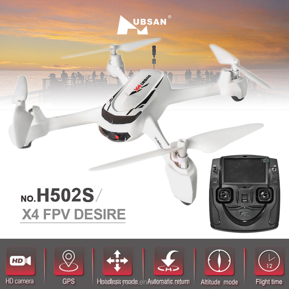 Hubsan H502S X4 Desire FPV Drone GPS Follow Me Headless 720P Camera Helicopter